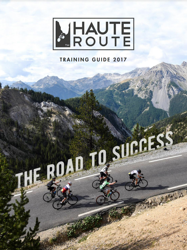 Haute Route Guide Book 2017