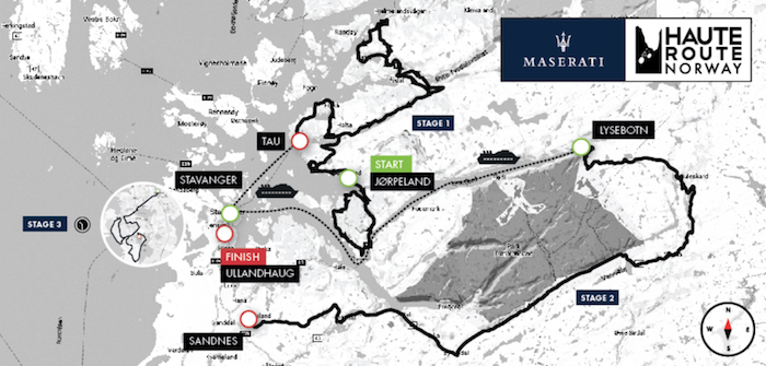 Maserati haute route norway 2018 for Haute route 2018