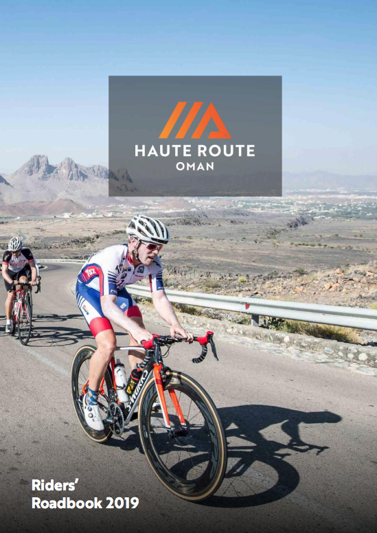 Haute Route Oman Guide Book Cover 2019
